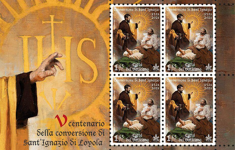Piękny znaczek z okazji Roku Ignacjańskiego