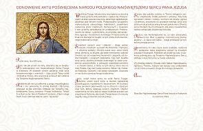 Akt Poświęcenia Narodu Polskiego Najświętszemu Sercu Pana Jezusa