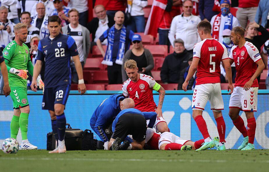 Dramat duńskiego piłkarza podczas meczu Euro 2020