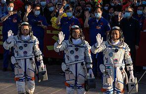 Dopięli swego. Astronauci dotarli do chińskiej stacji kosmicznej