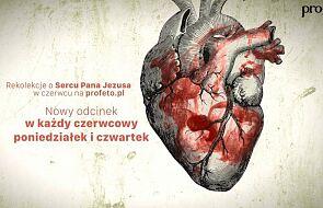 Od jutra video-rekolekcje o Sercu Jezusa. Zwłaszcza dla tych, którym jest ciężko