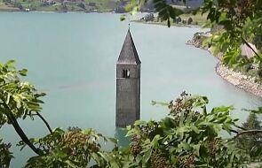 Zagubiona wioska wyłoniła się z włoskiego jeziora