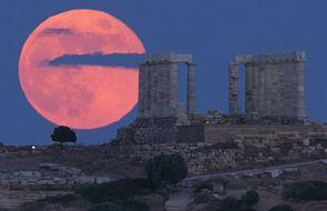 Niezwykłe zjawisko na niebie. Zobacz Truskawkowy Księżyc
