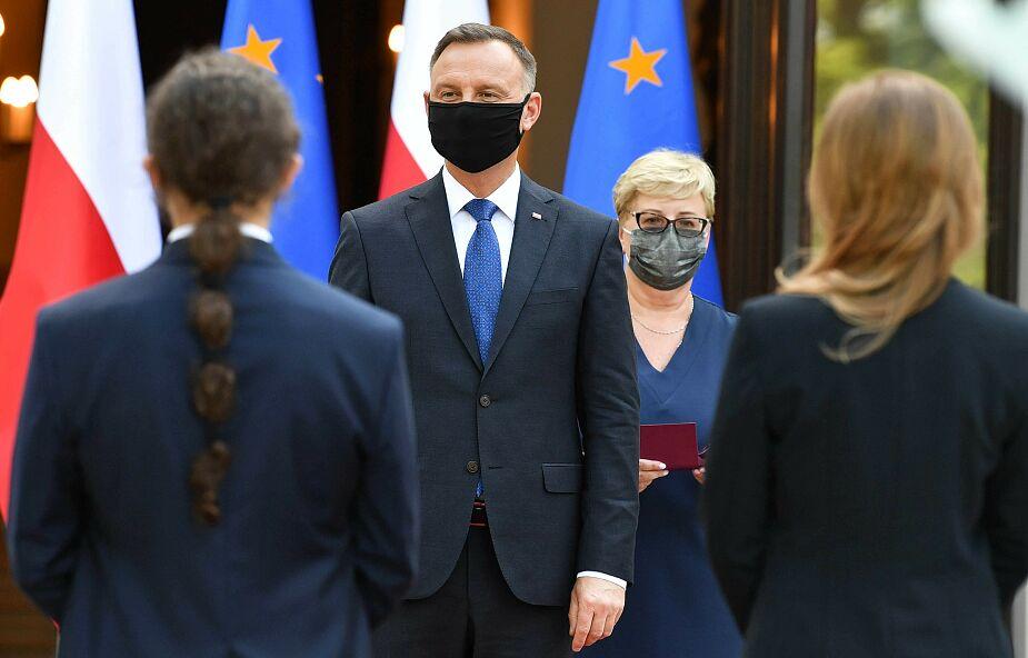 Prezydent uhonorował zasłużonych w walce z pandemią