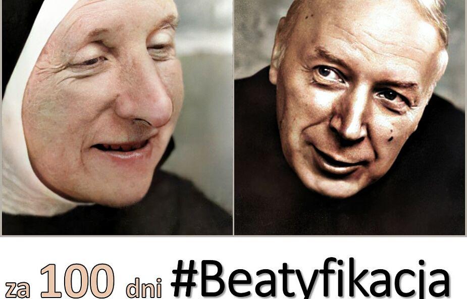 100 dni przed beatyfikacją kard. Wyszyńskiego i matki Czackiej startuje inicjatywa #Beatyfikacja