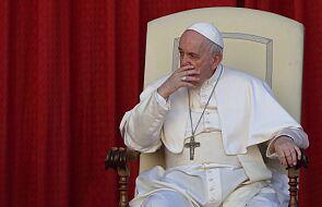 """Franciszek: """"Śledzę z bólem wiadomości napływające z Kanady"""""""