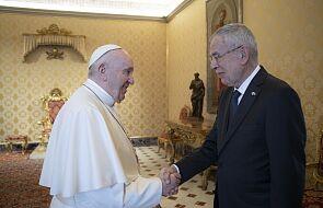 Papież spotkał się dzisiaj z prezydentem Austrii