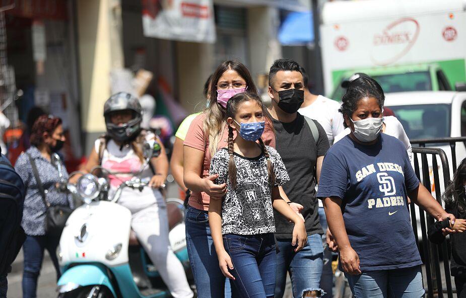 Nowy wariant koronawirusa rozprzestrzenia się w Meksyku. Przyrost zakażeń jest alarmujący