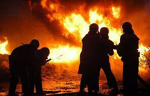 Grecja. Strażacy walczą z pożarami w pobliżu Olimpii i na Eubei
