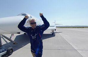 Pierwszy turystyczny lot w kosmos zakończony sukcesem