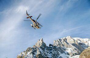 Alpy: staruszka przeżyła upadek ze 150 metrów. Jest w ciężkim stanie