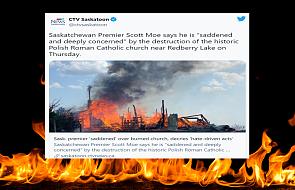 Kolejny pożar w Kanadzie. Spłonął polski kościół