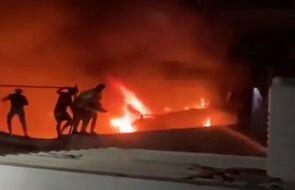 Tragiczny pożar w irackim szpitalu. Rośnie liczba ofiar