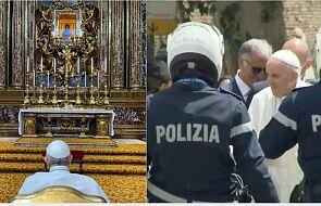 Franciszek podziękował Matce Bożej za udany przebieg operacji