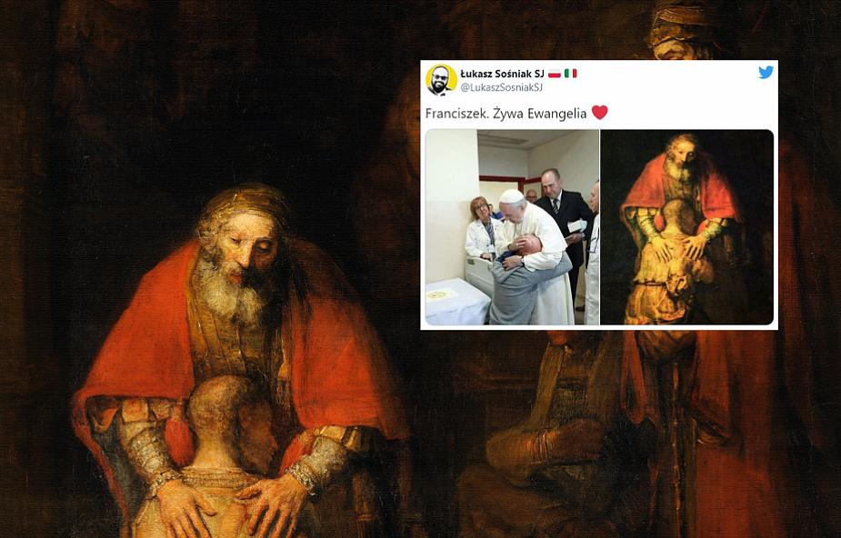 """""""Franciszek. Żywa Ewangelia"""". Jezuita zamieścił w sieci poruszające zdjęcie"""