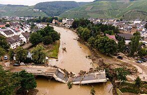 """""""To jest horror"""". Rośnie liczba ofiar śmiertelnych powodzi w Niemczech"""