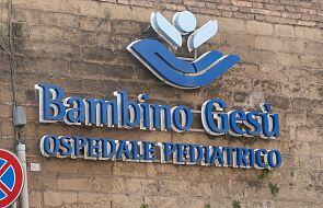 Watykan: szpital Bambino Gesù ma nowy zarząd