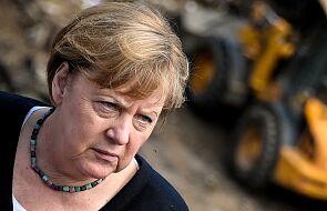 Niemcy: Merkel odwiedziła tereny dotknięte powodziami, zapowiada szybką pomoc dla poszkodowanych
