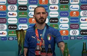 """Mistrz Europy Leonardo Bonucci. """"Byłem w stanie zrezygnować z gry w piłkę, jeśli tylko mój syn przeżyje"""""""