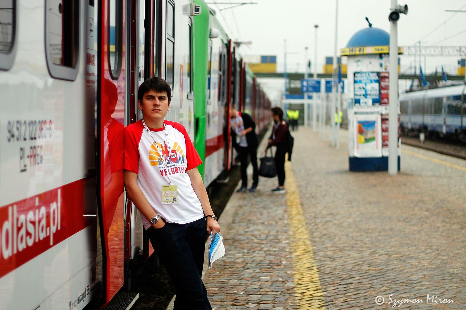 Fot. Facebook - profil Światowe Dni Młodzieży w Lizbonie / grupa Białystok, Szymon Miron