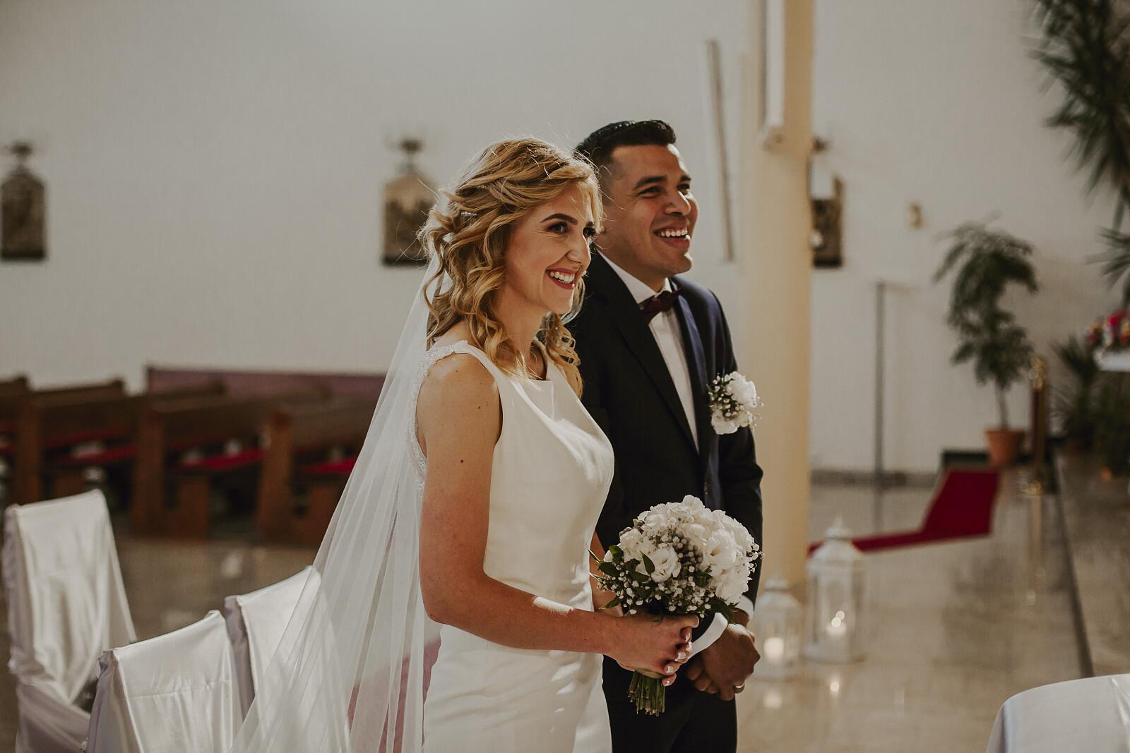Ela i Jose w dniu ślubu (Fot. Elżbieta, archiwum prywatne)