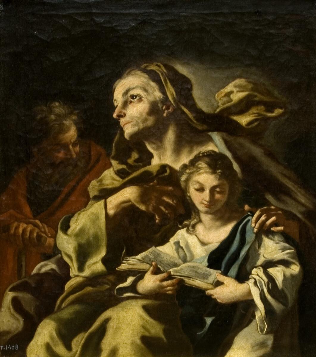 Sant Joaquim, Santa Anna i la Mare de Déu - Creative Commons - Public Domain - Mark
