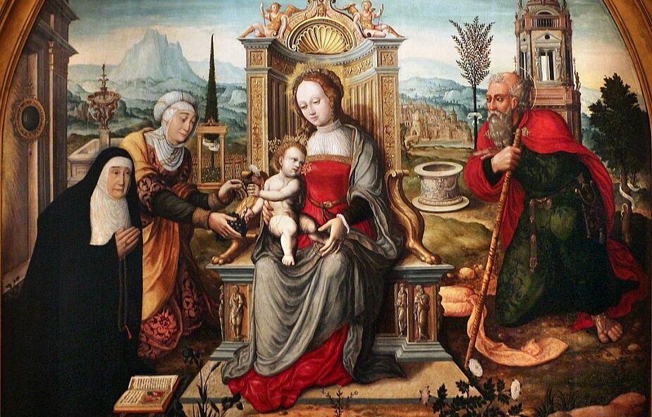 Babcia i dziadek Jezusa – święci Anna i Joachim