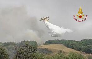 Setki przesiedlonych, tysiące spalonych hektarów. Tragiczny bilans pożarów na Sardynii