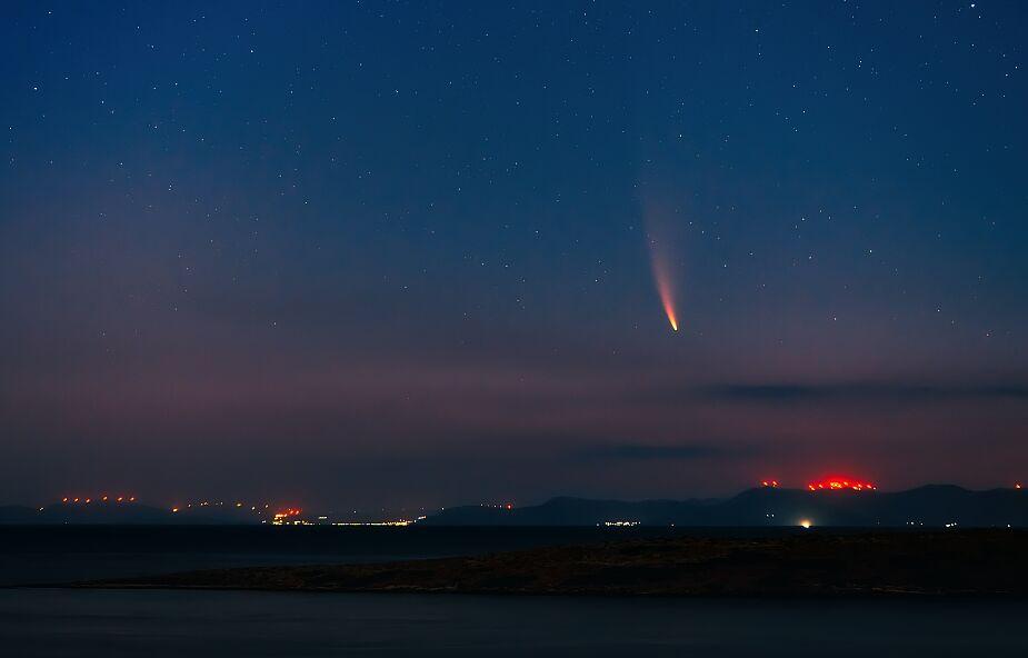 Największa kometa w historii zbliża się do centrum Układu Słonecznego