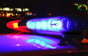 Policjanci eskortowali do szpitala dziewczynkę wymagającą pilnej pomocy
