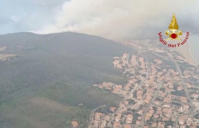 ITALY SARDINIA WILDFIRES