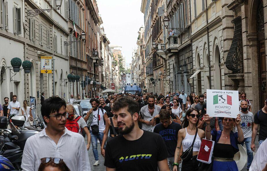 Włochy. Na Covid-19 umierają niemal wyłącznie niezaszczepieni