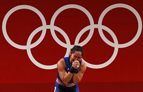 Zdobyła złoty medal na igrzyskach. Następnie ucałowała Maryjny medalik