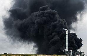 IMGW ostrzega przed chmurą dymu z fabryki chemicznej w Niemczech