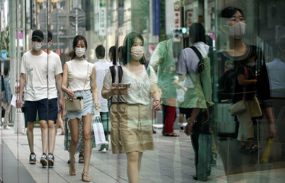 Covid-19. W Japonii najwyższa liczba zakażeń od początku pandemii