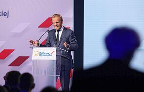 Donald Tusk ponownie na czele Platformy Obywatelskiej