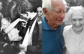 Wzięli ślub, choć mogli zginąć w każdej chwili. Przeżyli razem 75 lat