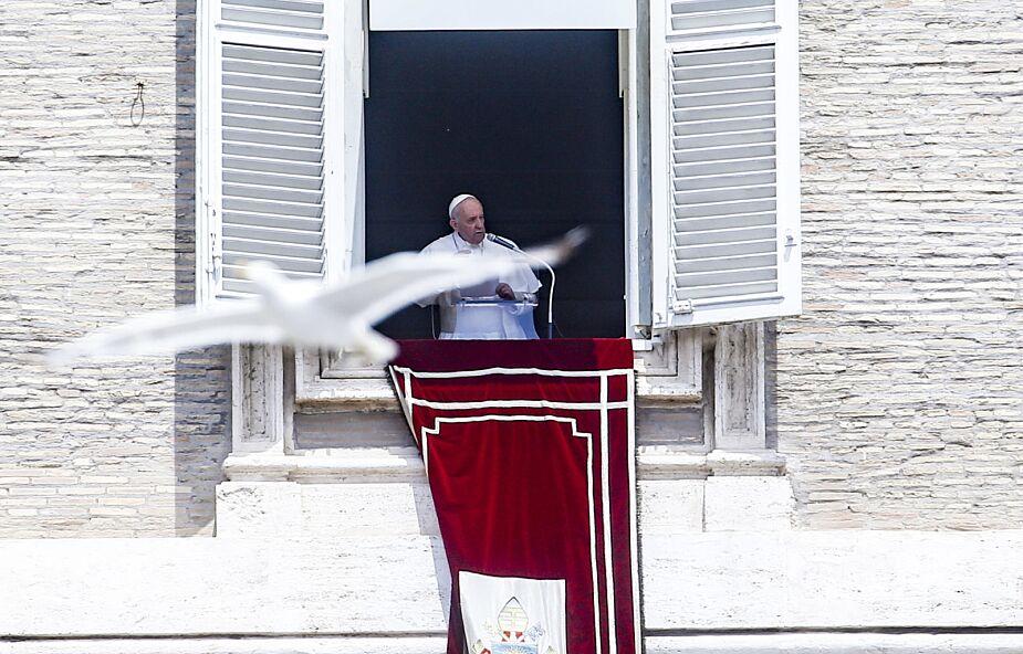 Papież odwiedzi Budapeszt i Słowację. Poinformował o tym w czasie modlitwy Anioł Pański