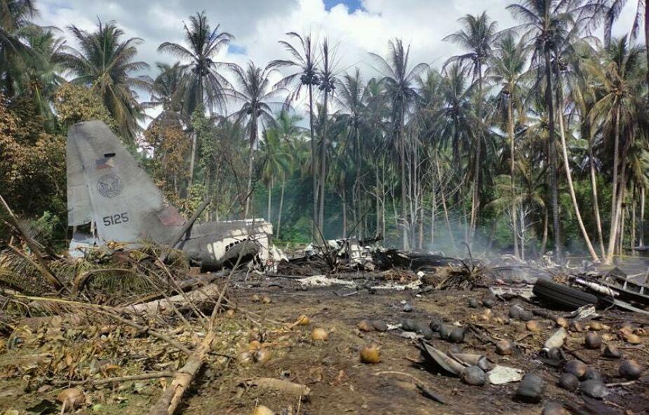 Katastrofa samolotu na Filipinach. Na pokładzie było ponad 90 osób