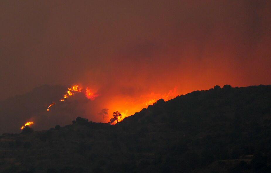 Cypr. Na wyspie szalał potężny pożar