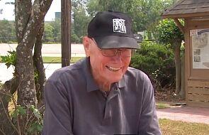 Siedemdziesiąt pięć lat czekał na dyplom. 93-letni weteran ukończył szkołę średnią