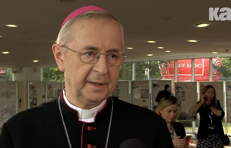 Abp Stanisław Gądecki przesłał pozdrowienia dla Franciszka od wszystkich Polaków