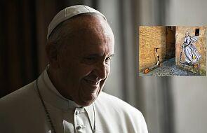Eko papież Franciszek pojawił się na ulicach Rzymu