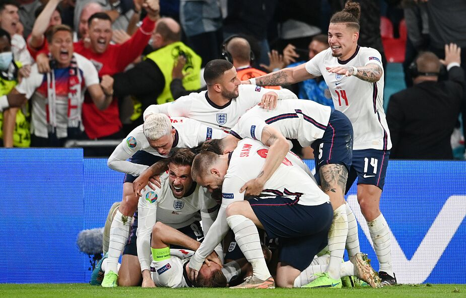"""ME 2020: w finale Anglia i Włochy. """"Jestem bardzo dumny z moich piłkarzy"""""""