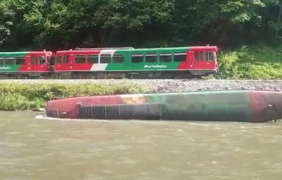 Wypadek kolejowy w Alpach. 15 osób zostało rannych