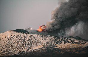 Etna zmieniła wysokość i kształt. To efekt ostatnich erupcji