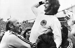 W wieku 75 lat zmarł legendarny niemiecki piłkarz Gerd Mueller