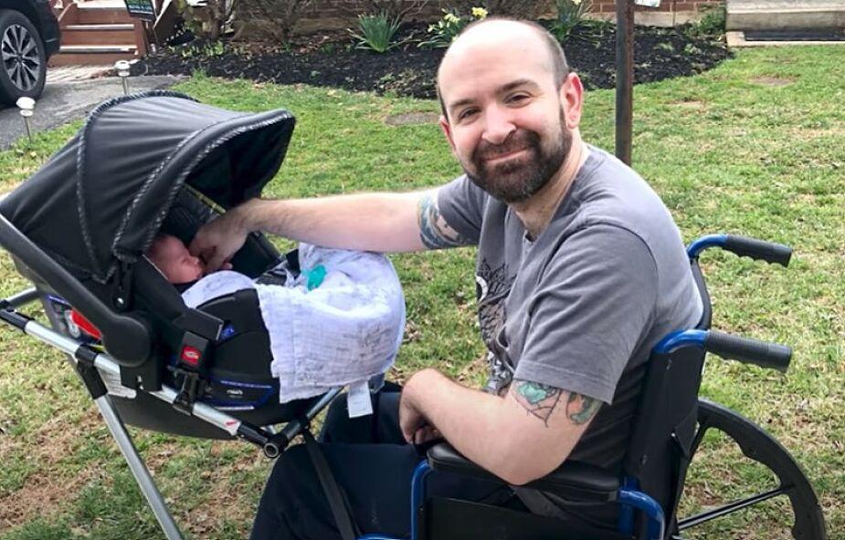 Studenci stworzyli dla Jeremy'ego wózek inwalidzki połączony z wózkiem dziecięcym