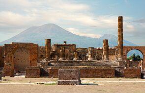 Niezwykłe odkrycie w Pompejach - grób teatromana