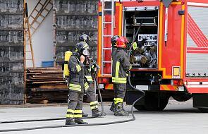 Pożar w bytomskim szpitalu, ewakuowano kilkudziesięciu pacjentów